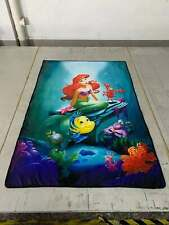 Mermaid princess fish soft Blanket Throw Blankets nap quilt 150X100Cm cartoon
