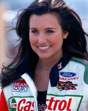 ASHLEY FORCE unsigned 8x10 color photo           GORGEOUS NHRA DRIVER