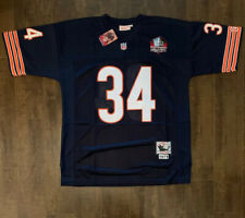 Walter Payton Chicago Bears Throwback Mens Jersey Size 50 Free Shipping (A1)