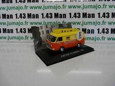 PIT25 1/43 IXO Altaya Véhicules d'époque ITALIE : FIAT 238 Plasmon 1967