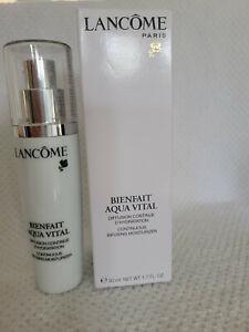 Lancome Bienfait Aqua Vital Continuous Infusing Moisturizer Lotion 1.6 oz/50 ml