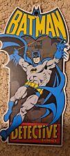 Batman Detective Comics Wall Hanging Decore - Hobby Lobby / Wb Web Shield