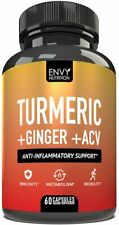 Turmeric and Ginger with Apple Cider Vinegar - Anti-Inflammatory Support 60ct