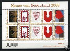 Nederland NVPH 2562 B Vel Persoonlijke zegels Keuze van Nederland 2008 Postfris