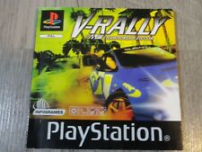 NOTICE MANUEL ONLY V RALLY 97 CHAMPIONSHIP EDITION PS1 PLAYSTATION 1 PSONE