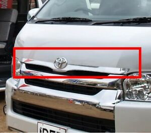 IDFR Toyota Hiace 2014~2017 Chrome cover bezel for front bonnet