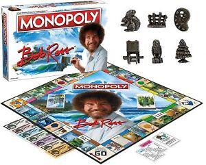 Monopoly Bob Ross Edition Board Game