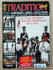 Tradition Magazine N° 157 le 17è Régiment de Huhlans Lithuaniens 1812 1814