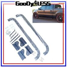 "For 09-14 Ford F150 Pickup Truck Super EXT Cab 3"" Round Nerf Bars Side Step Set"