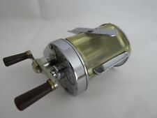 Hardy Elarex vintage multiplier reel with anti spash guard fitted