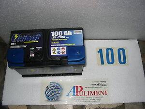 600-0 BATTERIA ACCUMULATORI (BATTERIES) UNIBAT  100ah AGRIFUL-FIAT-FORD-IVECO