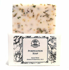 Purification Shea Soap Bar for Unwanted Energy & Negativity Wiccan Pagan Hoodoo