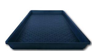 Microgreens trays (WITH drainage holes) Australian Made Polyethylene Food Grade