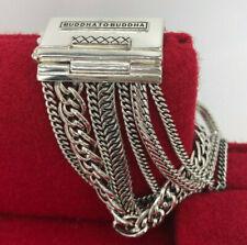 Buddha to Buddha Silberarmband 925 Multi Chain Nathalie F in 21 cm