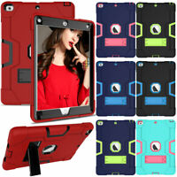 """For Apple iPad 6th Generation 2018/2017 9.7"""" Heavy Duty Rugged Tablet Cover Case"""