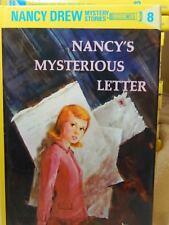 Nancy Drew Nancy's Mysterious Letter by Carolyn Keene #8 2002
