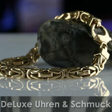 🎀*Königskette*Armband*7 x 7 mm*Massiv 585er Gold*81,90 Gramm*Länge 25 cm*TOP*