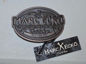 Marc Ecko Cut & Sew Belt Buckle NEW YORK MSRP $39.99/$19.99 Free shipping to USA