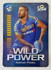 2016 NRL ESP Power Play Xtreme Wild Card WP10 16 Nathan Peats - Eels