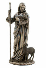 Jesus Christ Sculpture The Good Shepherd Statue Figurine