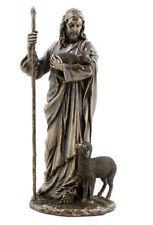 Jesus Christ Sculpture The Good Shepherd Statue Figurine
