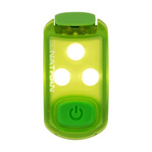 Nathan Tiny Strobe Light LED Weather Resistant Safety Light Clip