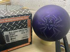 New listing NEW 14lb Rare International Hammer Black Widow Purple Urethane Bowling Ball
