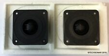 "Lot of 2 Phillips dome tweeter AD 11800/T8 | 3"" Square"