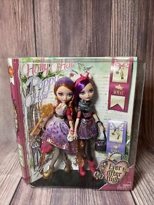 New 2013 Holly O'Hair And Poppy O'Hair Royal Ever After High Dolls MINT