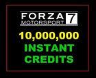 FORZA MOTORSPORT 7 CREDITS (10,000,000) XBOX ONE