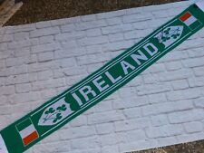 Echarpe scarf IRLANDE EIRE signed signé ROBBIE KEANE foot ultras IRELAND