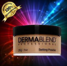 DERMABLEND Loose Setting Powder WARM SAFFRON, 1 oz. NEW IN BOX