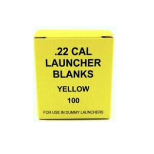 Yellow Dummy Launcher Blanks Suitable In Remote & Bumper Boy Launchers 100pr Box