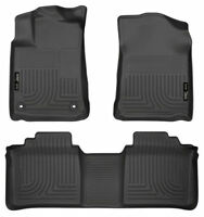 Husky Liners 2013-2017 Toyota Avalon Floor Mats Front and Rear Set Black 98501