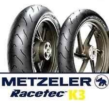 Coppia gomme pneumatici Metzeler Racetec K3 120/70 ZR 17 58W 180/55 ZR 17 73W