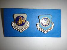 Group Of 2 USAF 14th And 15th AIR FORCE Divisions Lapel Pins