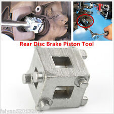 "3/8"" Car Rear Disc Brake Piston Caliper Wind Back Cube Adaptor Drive Tool Silver"
