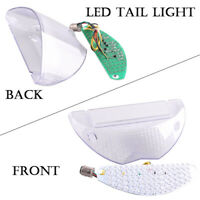 LED Tail Light With Brake For BMW R1200GS 2004-2007 & F650GS 2005-2009 Clear ABS