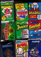 Mike's Estate sale 100+ Baseball Cards from unopened packs (please read)