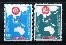 Philippines 1232-1233,MNH.Michel 1100-1101.Asian Congress of Pediatrics,1974.Map