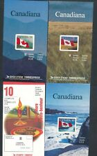 Canada *(9) Unexploded Booklets* Post Office Fresh; Face Value $46 *Value*