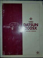 1982 Datsun Nissan 200SX Shop Service Manual Original