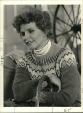 "1985 Press Photo Lee Remick in ""The Gift of Love: A Christmas Story"" - pip04683"