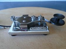 Bencher straight Morse key in immaculate condition