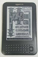 "Amazon Kindle 3rd Edition 4GB internal storage 6"" Display - D00901 Graphite Grey"