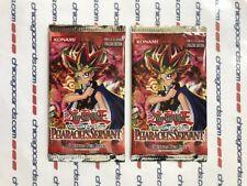 2x Yu-Gi-Oh Pharaoh's Servant Unlimited Booster PACK Box-Fresh English Edition