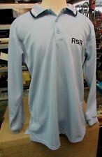Mens Official License Asa Amateur Softball Assoc Umpire Blue Ls Shirt Xl 46-48