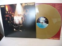 "ABBA Super Trouper 180gm Gold Coloured Vinyl Record 12"" LP New Not Sealed Ltd Ed"