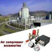 Air Compressor Pump Pressure Control Valve Manifold Regulator Gauges N3O4