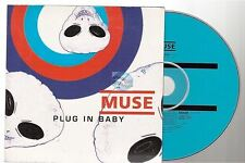 Muse Plug In Baby CD SINGLE france french card sleeve .